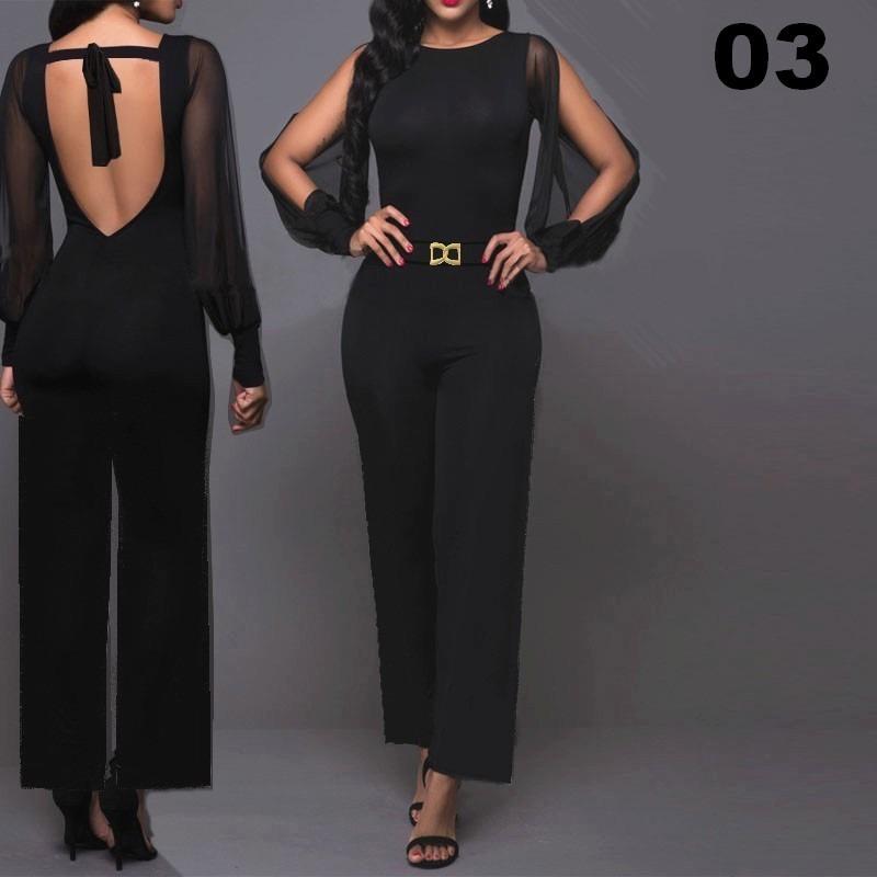 1b69b497f Macacão Feminino Tipo Pantalona Longo Festas ... - R$ 149,00 em ...
