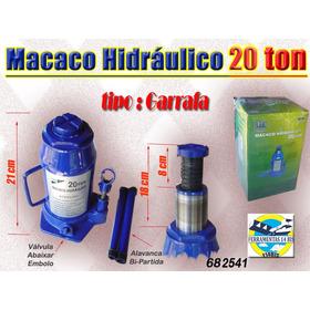 Macaco Hidráulico Garrafa  20 Ton.