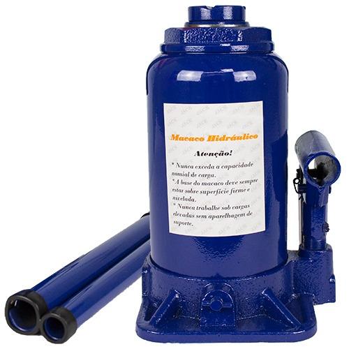 macaco hidráulico tipo garrafa cap. 2 toneladas - tander