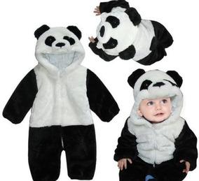 7f53662a0f7752 Macacão Infantil Fantasia Parmalat Bebê Urso Panda