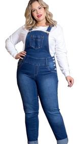 dc487945a Macacao Feminino Plus Size - Macacão Feminino com o Melhores Preços no  Mercado Livre Brasil