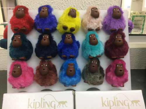 macaco kipling chaveiro