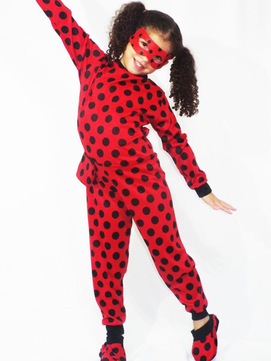 a274a79c192366 Macacão Ladybug