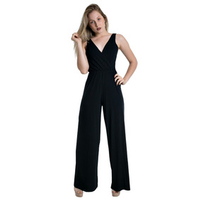 0a813bd98 Macacao Pantalona Capri - Macacão para Feminino no Mercado Livre Brasil