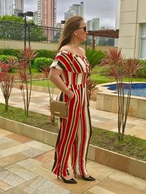 350481b4f91bd8 Macacao Luxo Feminino - Macacão Feminino no Mercado Livre Brasil
