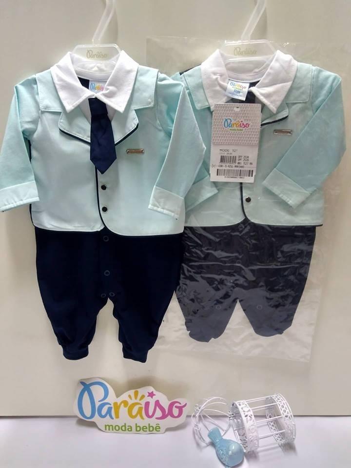 b23b20f99 macacão luxo menino paraiso moda bebe tip top gravata 7527. Carregando zoom.