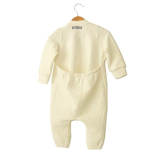 macacão malha tecido bebê branco e colorido ma ma vie