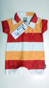 7d29cdb3611b1e Macacão Masculino Bebê Puc - Cód. 2347