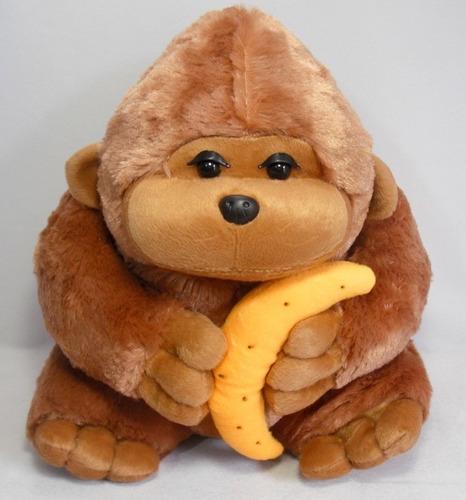 macaco pelúcia gorila
