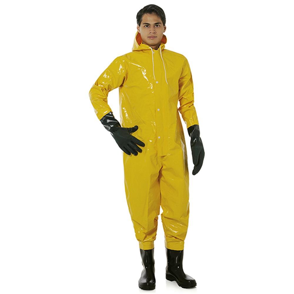 7d00b5ad8799e Macacão Saneamento Trev-cap 500 Amarelo Prot-cap - R  216,00 em ...