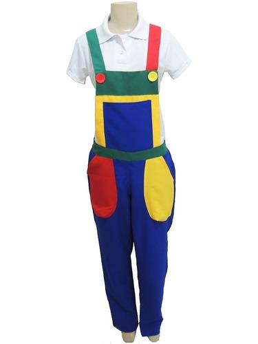 macacão uniforme para buffet, monitor, festa -pronta entrega