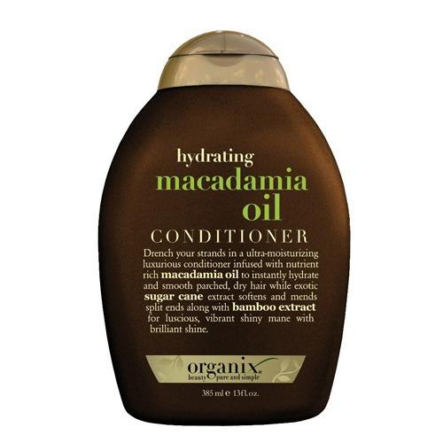 macadamia oil organix - condicionador cabelos secos 385ml