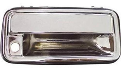 macaneta externa diant dir com furo cromado silverado --