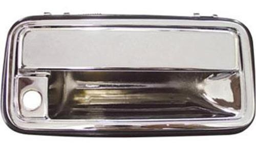 macaneta externa diant esq com furo cromado silverado --