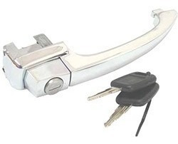 macaneta externa porta fusca/ brasilia /77 cromado s/chave