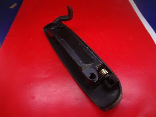 maçaneta externa porta logus pointer esquerdo preto metal