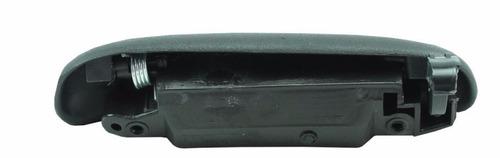 maçaneta externa tampa caçamba traseira courier fundo ferro