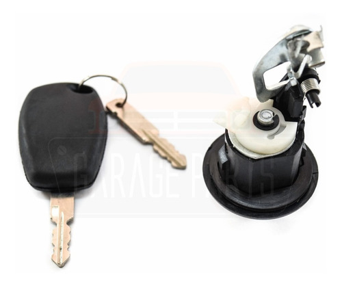 maçaneta fecho cilindro chaves porta malas sandero 07 a 14