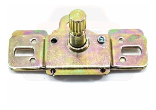 maçaneta interna cromada porta + acionador - fusca até 77