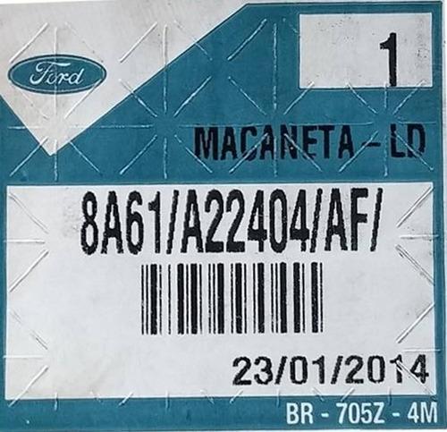 macaneta  portas ecosport 12/ novo original 8a61a22404af