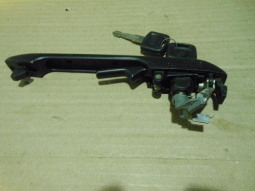 maçaneta  santana quantum antigo aluminio duro c 2 chaves