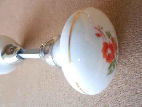 maçaneta/trinco bola de porcelana ref: 018-12