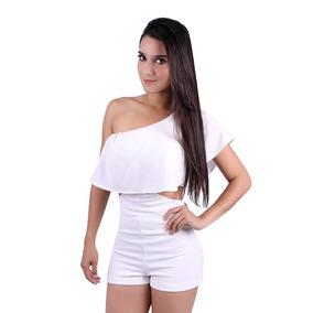 620c555cd Macacao+branco - Macacão para Feminino em Amazonas no Mercado Livre Brasil