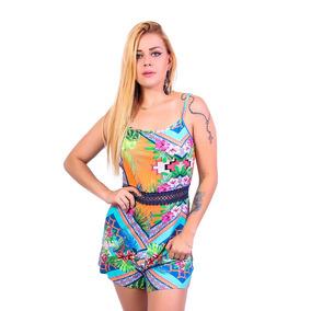 15f8a3522f Macacão Florido Muito Fashion! no Mercado Livre Brasil