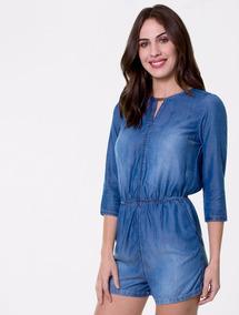 659d832c4 Colcci Macacão Jeans - Calçados, Roupas e Bolsas no Mercado Livre Brasil