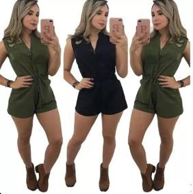 cb0680518 Macacao Militar Feminino - Macacão para Feminino no Mercado Livre Brasil