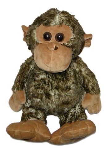 macaquinho de pelúcia - macaco - safari - grande