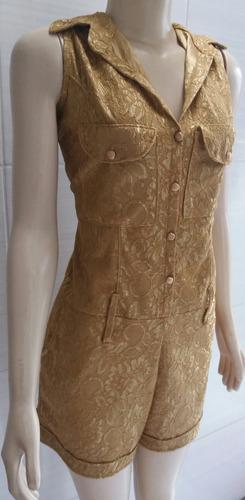 macaquinho dourado maravilhoso. bordado!