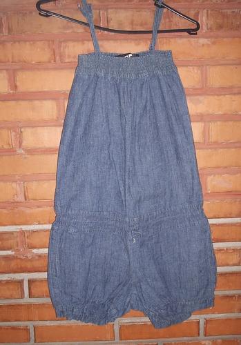 macaquinho jeans leve tamanho 38
