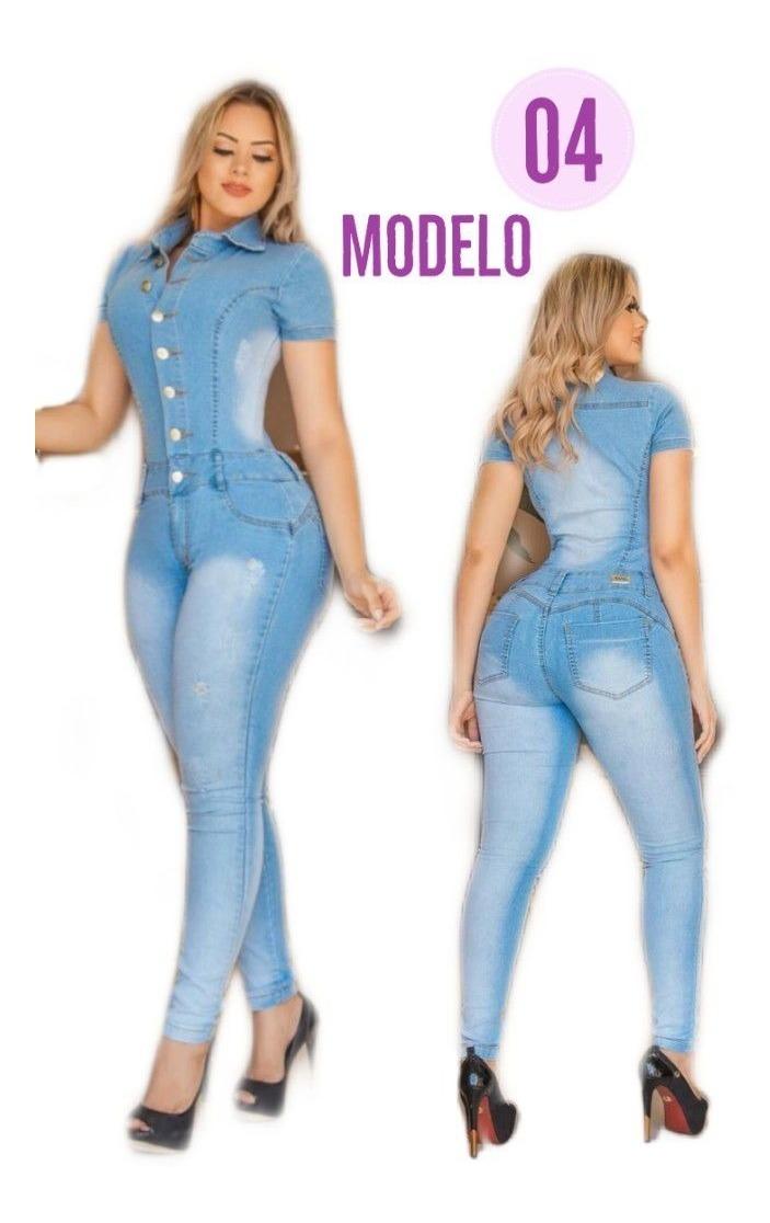 3323c3225 macaquinho macacão jeans longo moda blogueira instagraref. 4. Carregando  zoom.