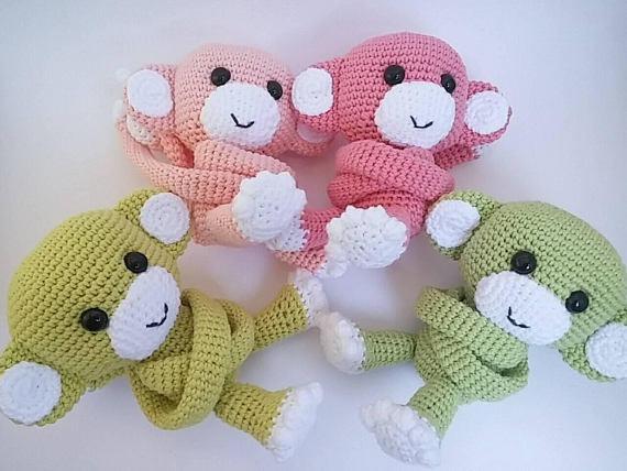 Amigurumis Para Bebes : Gato tejido a mano crochet amigurumi muñeco para niños