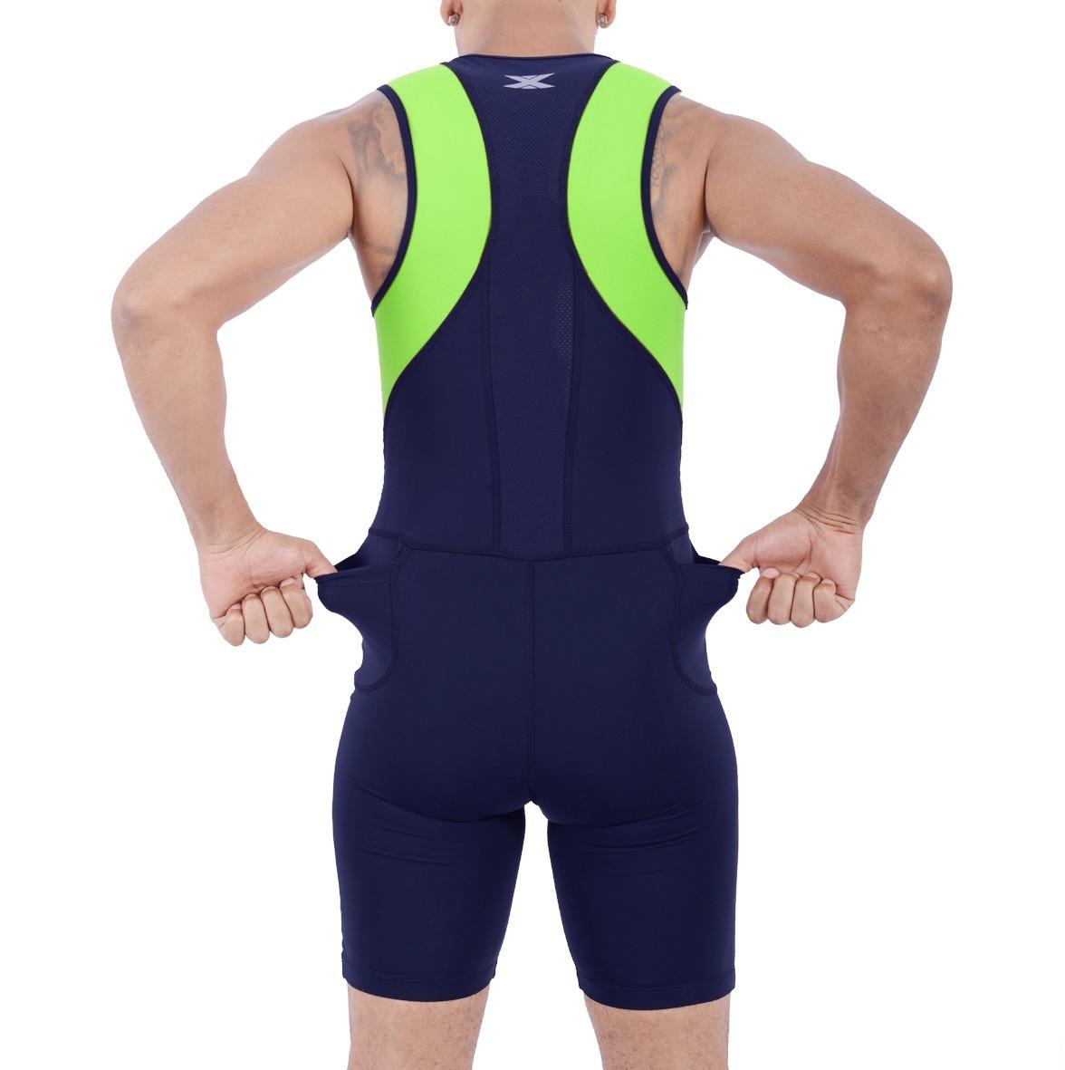 macaquinho triathlon masculino de alta compressão dx3 x powe. Carregando  zoom. 21e2287a3591b
