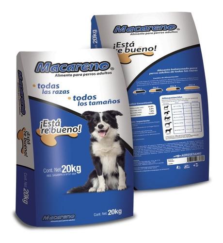 macareno adulto 20kg alimento para perro