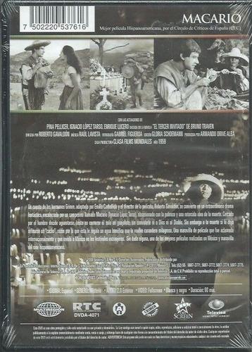 macario ignacio lopez tarso pelicula dvd