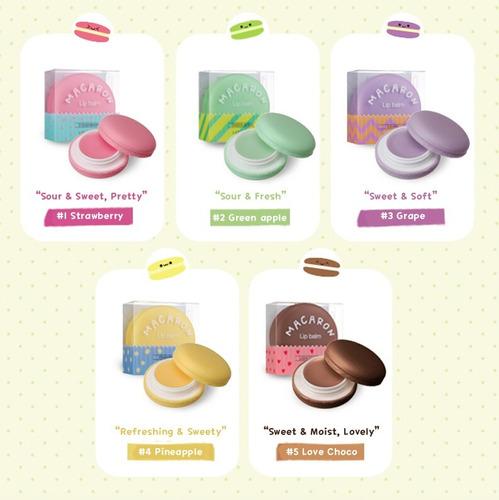 macaron lip balm - it's skin - original