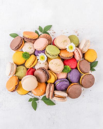 macarons (caja de 15 unidades)