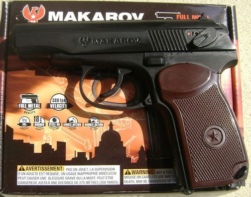 macarov ultra pistola de co2