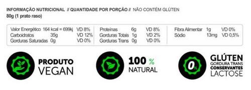 macarrão low carb 200g panda emagrece s/glúten