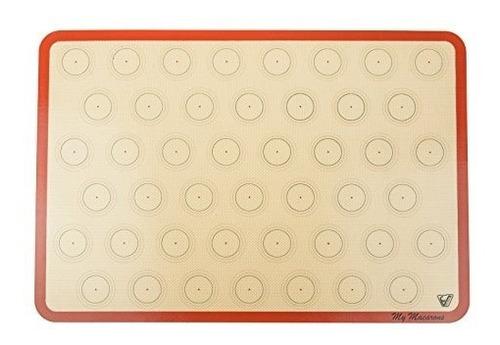 macarrones de silicona - tamaño de hoja 2/3 (grueso y grande