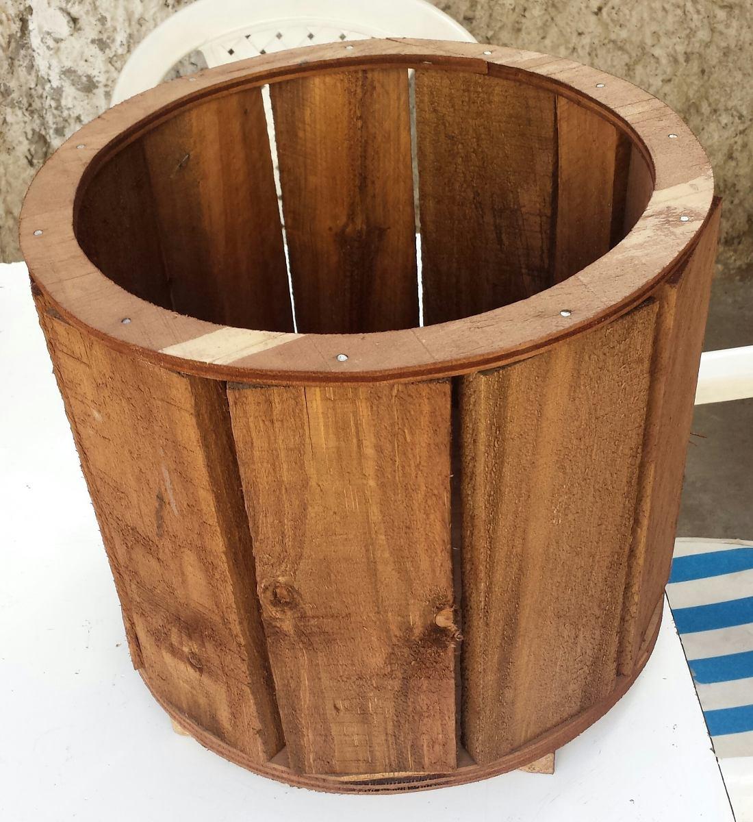 Macateros de madera reciclada en mercado libre - Maceteros de madera ...