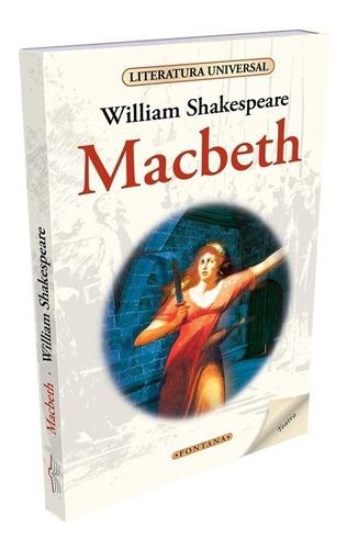 macbeth. william shakespeare. clasicos fontana