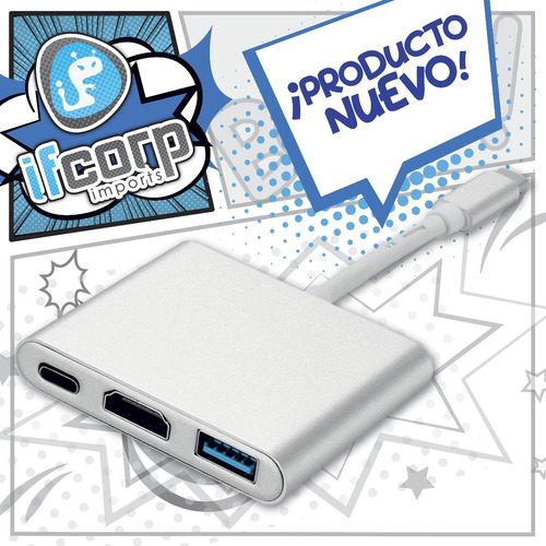 macbook adaptador dock nintendo switch usb tipoc hdmi