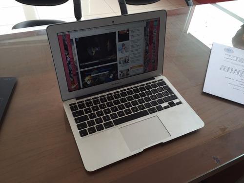macbook air 11 pulgadas con cargador, poco uso