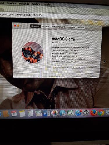 macbook air (11 pulgadas, principios de 2015)
