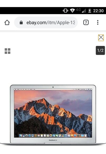 macbook air 13 como nueva