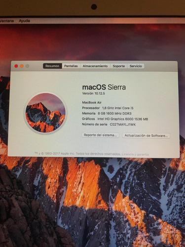 macbook air 13  (escasas horas de uso)